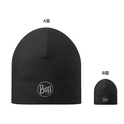 BUFF秋冬帽子 原创双层帽 防风保暖跑步帽 111397 经典黑(防寒保暖,透气排汗)