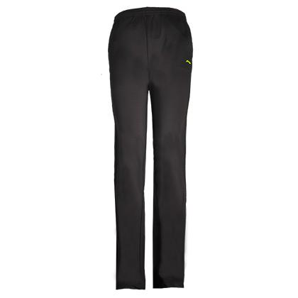李宁 羽毛球长裤 AKLK556-2 女款 幻影黑 直筒卫裤薄款