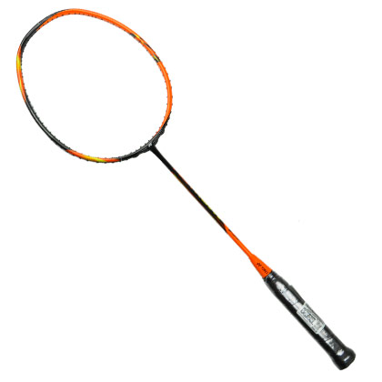 YONEX尤尼克斯羽毛球拍 天斧7 ASTROX7 AX7 黑橙 只售正品行货,可二维码查验真伪