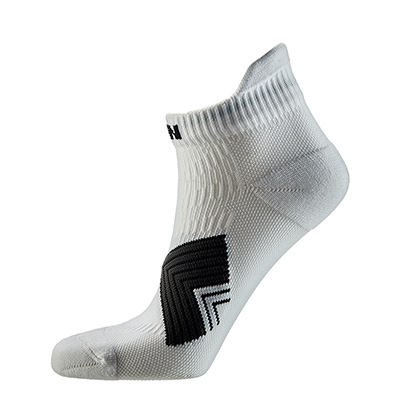 泰昂 机能运动袜 TRA 8203-17 女款 白色(防滑耐磨,弹性舒适)