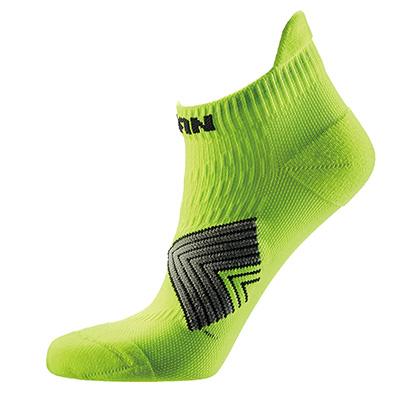 泰昂机能运动袜 TRA8203 女款莹黄短袜(4双装,防滑耐磨,弹性舒适)