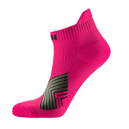 泰昂机能运动袜 TRA8203女款粉红色短袜(4双装,防滑耐磨,弹性舒适)