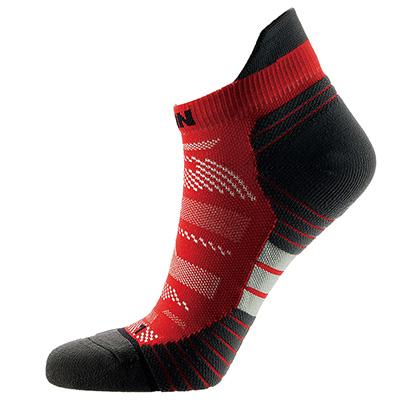 泰昂 机能运动袜 TRA 8002-17 男款 红色(防滑耐磨,弹性舒适)