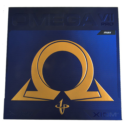 骄猛XIOM欧米茄7乒乓套胶(黑色碳素海绵科技)OMEGA VII PRO反胶套胶