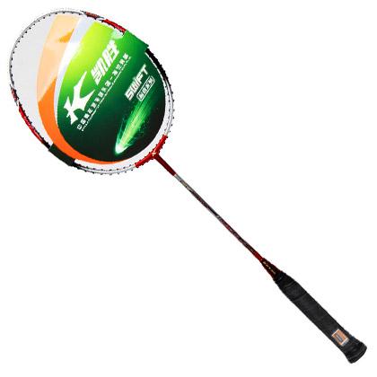 凯胜kason羽毛球拍 汤仙虎Tsf100TI(灵活速度型) 红银款