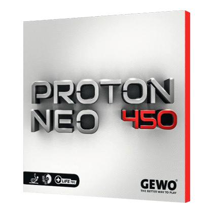 捷沃GEWO 尼奥质子450 Proton NEO450 内能套胶,德国反手利器