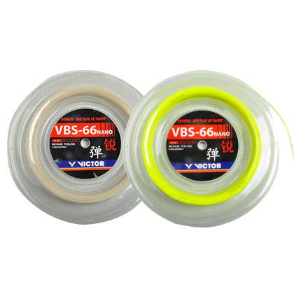 胜利VICTOR大盘羽毛球线 VBS-66 RL 高弹线羽毛球线