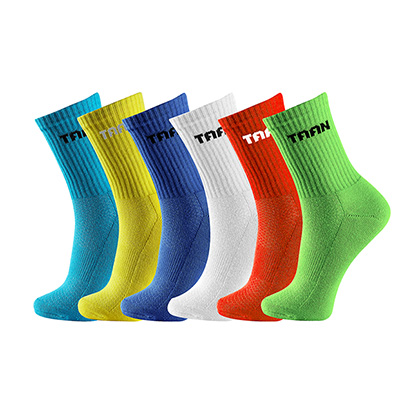 泰昂TAAN运动袜 T-353男袜 高帮(专业款羽毛球比赛袜)