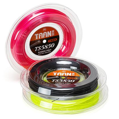 泰昂TAAN网球大盘线 TS-5850 十角硬线,旋转效果非常强烈