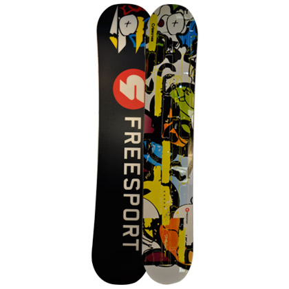 Freesport滑雪单板 Crisscross White 自由式滑雪板