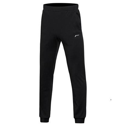 李宁 运动裤 AKLM109-1 黑色 男士卫裤