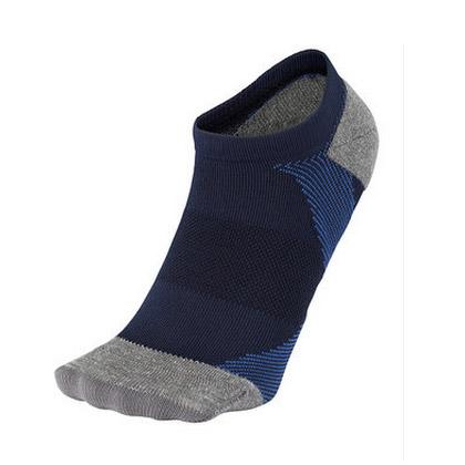 C3fit 足弓支撑运动船袜 男女 3F66158U 黑蓝色 N