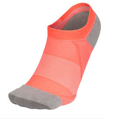 C3fit 足弓支撑运动船袜 男女 3F66158U 橙粉色 CO