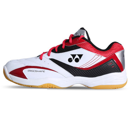Yonex尤尼克斯羽毛球鞋SHB-49C 白红 男女款运动鞋