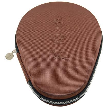 专业队乒乓拍套 铠甲Ⅱ棕色 抗冲压乒乓球拍套