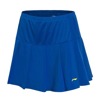 李宁羽毛球裤裙ASKM006-2 女款 蓝色(2017全英公开赛纪念服)