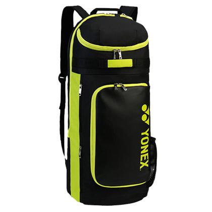 尤尼克斯YONEX羽毛球双肩背包 BAG8722EX  2支装 黑/酸橙绿