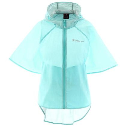 探路者TOREAD女款皮肤衣 防晒衣 沙滩衣 TAEC82696-C13G 女式 粉蓝 (户外游玩必备)