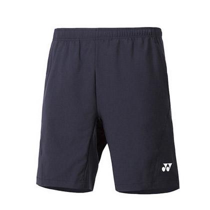 尤尼克斯YONEX羽毛球短裤120027BCR-007男款 黑色