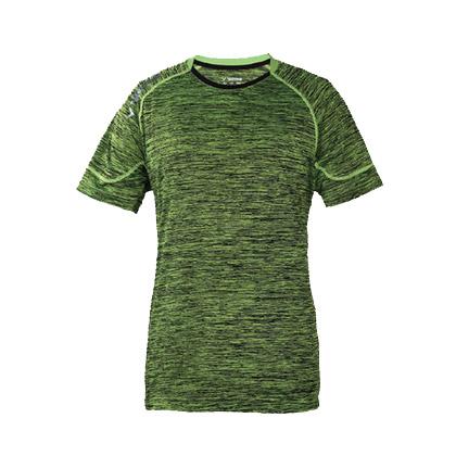 胜利VICTOR羽毛球短袖T恤T1-6041G 荧光绿 中性款