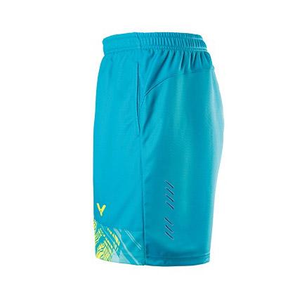 胜利VICTOR 羽毛球短裤 R-70200M 中性款 夏威夷蓝