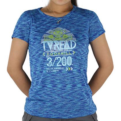 探路者Toread 短袖T恤 KAJE82403-C41X 女式 靛蓝
