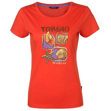 探路者Toread 短袖T恤 TAJE82707-B28X 女式 柿子橙