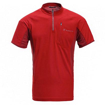 探路者Toread TIEF短袖T恤 TAJC81633-A21A 男式 熔岩红