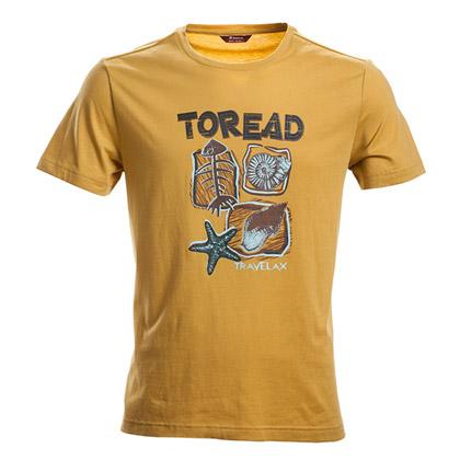 探路者Toread 短袖T恤 TAJE81706-B36X 男式 岩黄