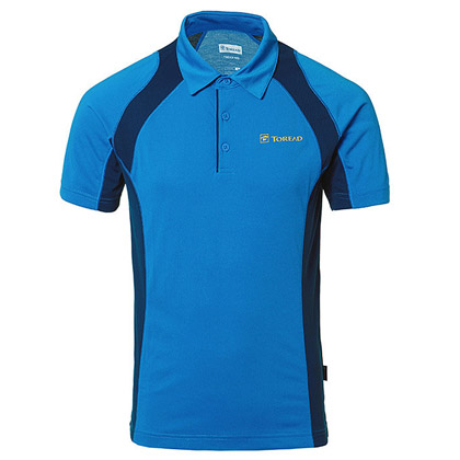 探路者Toread 短袖速干T恤 TAJC81202-C02C 男式 宝蓝