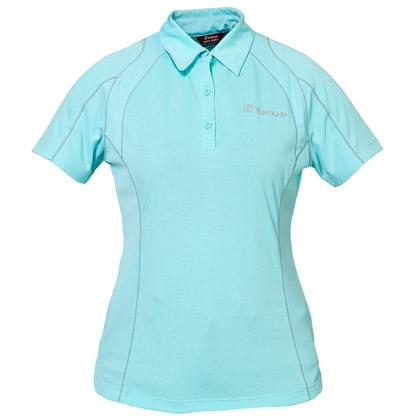 探路者Toread 短袖速干T恤 TAJC82242-C13X 女式粉蓝
