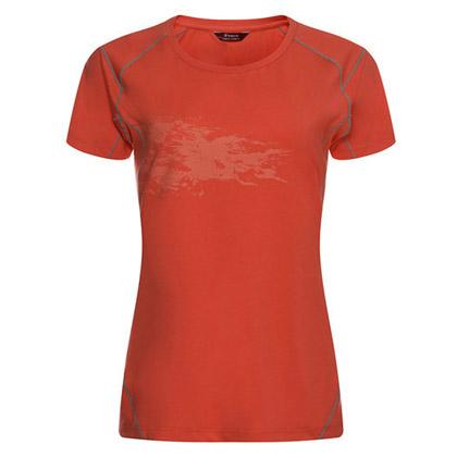 探路者Toread 短袖速干T恤 TAJC82864-A20X 女式 西瓜红