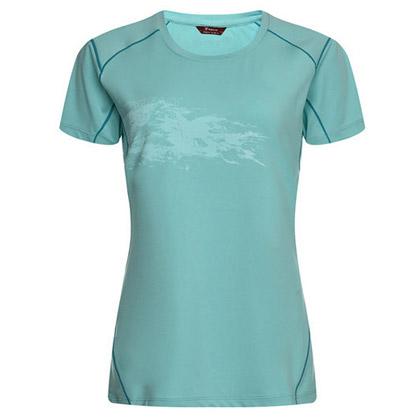 探路者Toread 短袖速干T恤 TAJC82864-C13C 女式 粉蓝