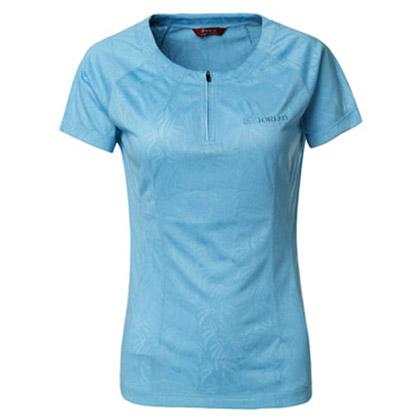 探路者Toread 速干短袖T恤 TAJC82690-C10X 女式 天空蓝