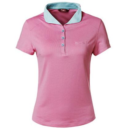 探路者Toread 速干短袖T恤 TAJC82691-A27C 女式 香粉
