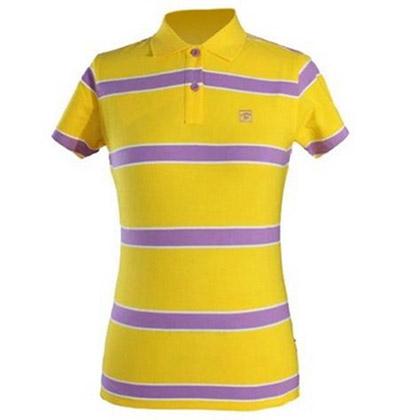 探路者Toread 短袖T恤 TAJC82530-I01X 女式 黄紫白间