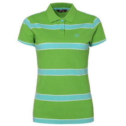探路者Toread 短袖T恤 TAJC82530-I02X 女式 绿蓝白间