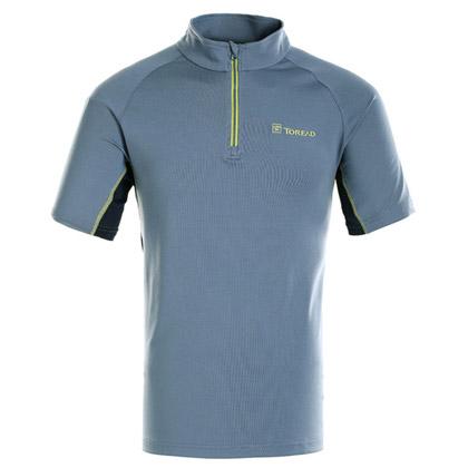 探路者Toread 速干短袖T恤 TAJC81840-C26C 男式 青蓝灰