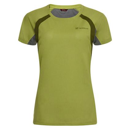 探路者Toread 短袖速干T恤 TAJC82244-D04D 女式 青果绿