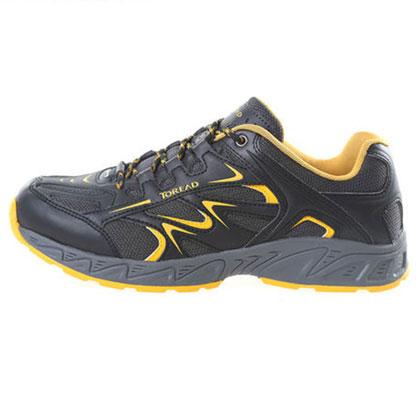 探路者男式徒步鞋-黑色TFAB81601-1
