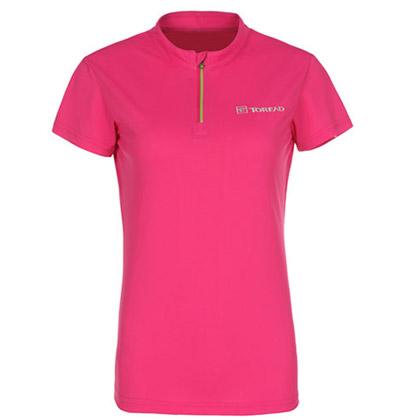 探路者Toread 短袖速干T恤 TAJD82758-A05X 女式 蔷薇红