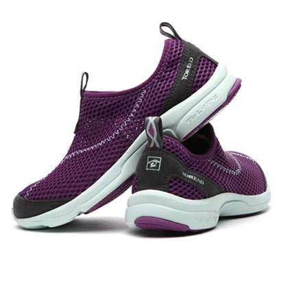探路者Toread 营地鞋 TFJE82707-E21D 女式 幻紫薄荷绿