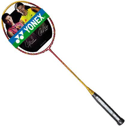 尤尼克斯YONEX羽毛球拍 NR-TS3 金色(顺锥拍杆,手感夯实,快上加快)