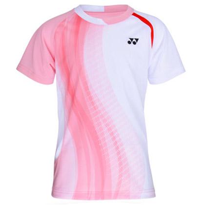 尤尼克斯YONEX儿童羽毛球服 310017BCR 暖粉色(超轻零负担!)