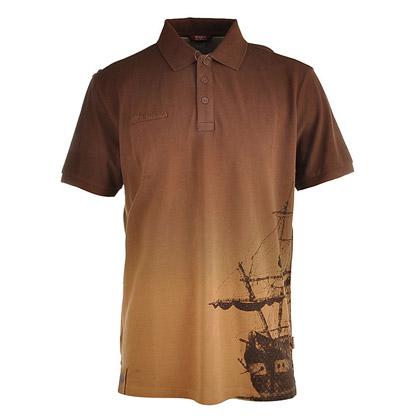 探路者Toread 短袖体恤衫TAJB81550-4 男式-棕色