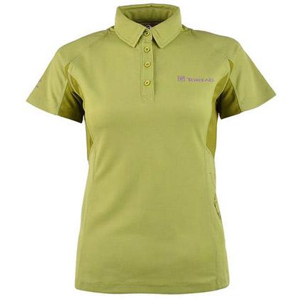 探路者Toread 短袖速干T恤 TAJB82265-5 女式-青果绿