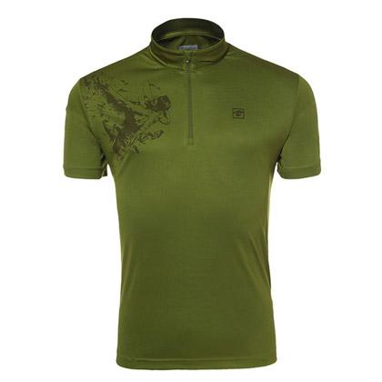探路者Toread 短袖速干T恤 TAJC81280-D02X 男式-芥绿
