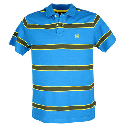 探路者Toread 短袖T恤 TAJC81503-I02X 男式-蓝黄绿间