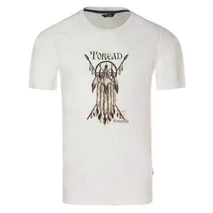 探路者Toread 短袖T恤TAJC81507-G02X 男式-白色