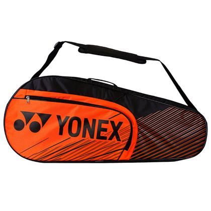 尤尼克斯YONEX羽毛球包 BAG-4726EX 六支装 单肩包 橙色